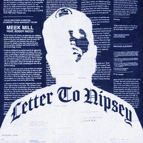 Meek Mill, Roddy Ricch - Letter To Nipsey (feat. Roddy Ricch)  (2020)