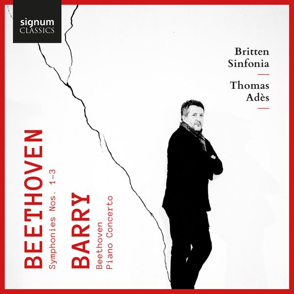Альбом: Beethoven: Symphonies 1, 2 & 3 - Barry: Beethoven & Piano Concerto