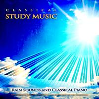 Study Music - Les Adieux - Beethoven - Classical Piano Music and Rain Sounds - Classical Studying Music