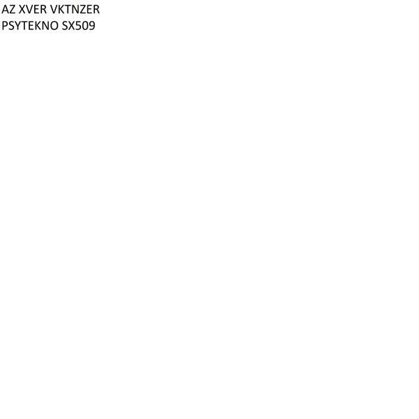 Альбом: PSYTEKNO SX509