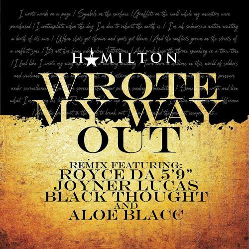 "Royce Da 5'9"", Joyner Lucas, Black Thought, Aloe Blacc - Wrote My Way Out (Remix) [feat. Aloe Blacc]  (2018)"